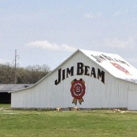 Kentucky countryside and visit to Jim Beam distillery